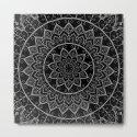 Black and White Lace Mandala by kekeziah