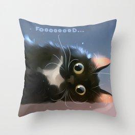 Fall flat! Throw Pillow