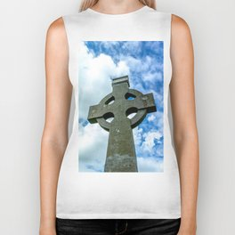 Celtic Cross Biker Tank