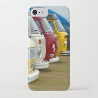 vans iPhone & iPod Cases featuring Camper Vans by Jainbow