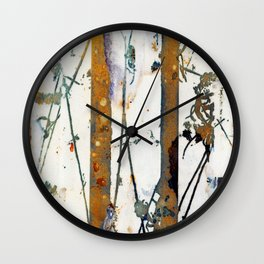 Waterfall Lines Wall Clock