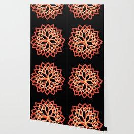 Delphine • Yoga design • Wallpaper
