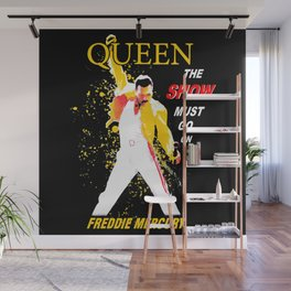 Queen - The Show Must Go On Wall Mural
