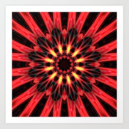 Coronal Mass Ejection Art Print