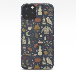 Dinos In Sweaters iPhone 11 case
