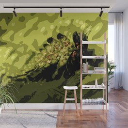 Fern Abstraction Wall Mural