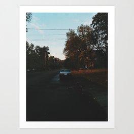 Oregon In The Fall Art Print