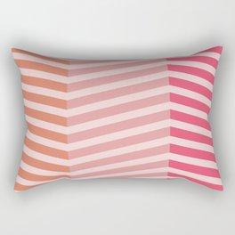 Modern Grids Rectangular Pillow