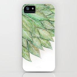 Todas las hojas son del viento iPhone Case