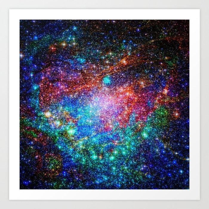 starry wonderland Art Print