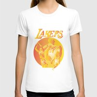 lakers T-shirts featuring Lakers by Istvan Antal