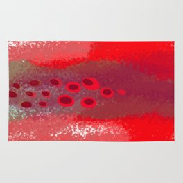 Red Session 3 Rug