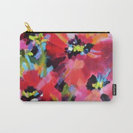 Wildflowers and Poppies Carry-All Pouch