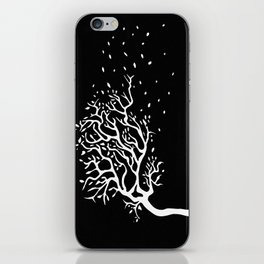 Wind tree iPhone Skin