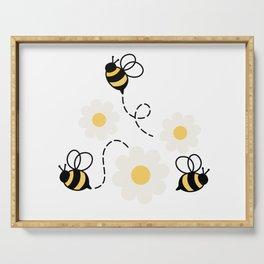 Three Bees Serving Tray