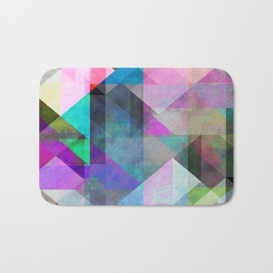 Color Blocking 3 Bath Mat