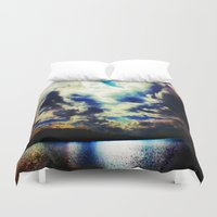 lake Duvet Covers featuring Lake by Layne Andrews