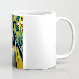 Technicolor Cellos  Coffee Mug