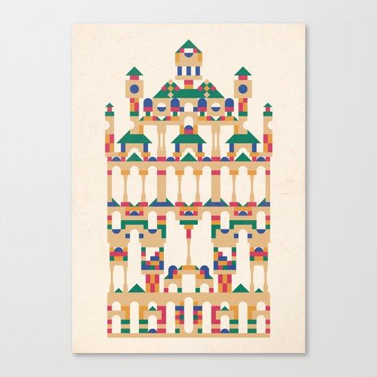 Block Façade Canvas Print