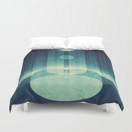 Earth - Aurora Borealis Duvet Cover