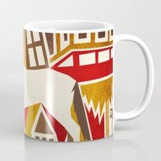 Abstract Pattern Unicorn Mug