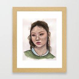 mulan_bae Framed Art Print