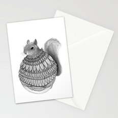 The Squirrel-Feathered Stationery Cards