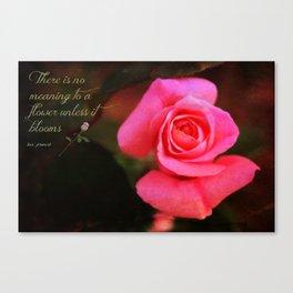 Zen Proverb 2 Canvas Print
