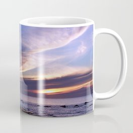 Feathered Clouds at Sunset Coffee Mug