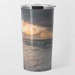 Those sunsets that wish you hope.. Travel Mug