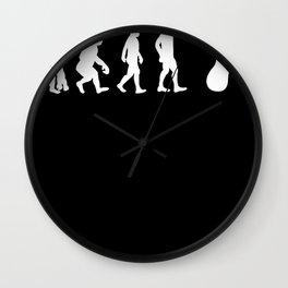 Foot Evolution  Podiatrist Feet Gift Wall Clock