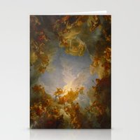 baroque Stationery Cards featuring Baroque by Tori Beretta