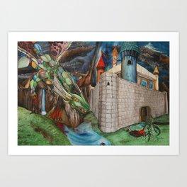Queen Assarrakyn Art Print