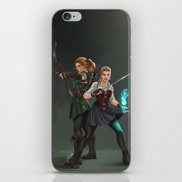 Steampunk Girls iPhone Skin