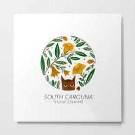 American Cats - South Carolina Metal Print