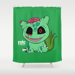Zombimon - 001 Shower Curtain