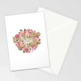 Blackthorn Family Motto Stationery Cards
