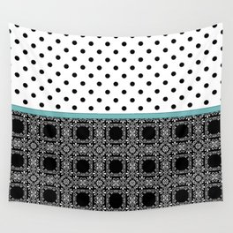 A combined decorative pattern . Wall Tapestry