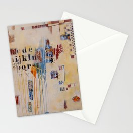 """""""Falling into Place"""" Stationery Cards"""