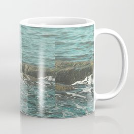 Waves on the Rocks Coffee Mug