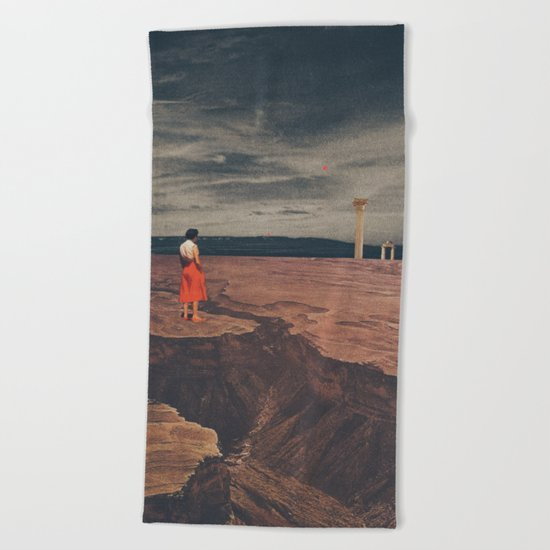 Across The History Beach Towel