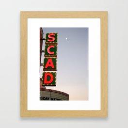 SCAD Framed Art Print