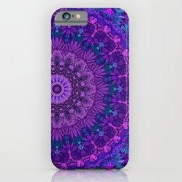 Harmony in Purple iPhone Case