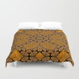 Victorian Art Deco Medieval Pattern SB36 Duvet Cover