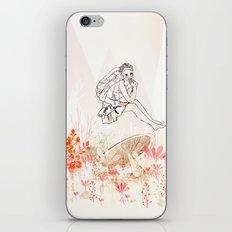 mashroom lady wonderland  iPhone & iPod Skin