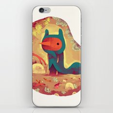 le frisé iPhone & iPod Skin