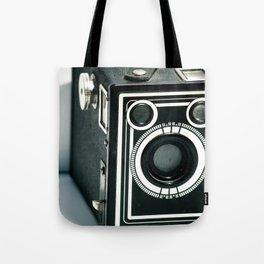 Vintage 1940's Sears S-20 Box Camera Photography  Tote Bag