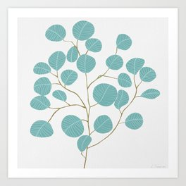 Eucalyptus No. 1 Art Print