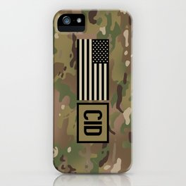 CID (Camo) iPhone Case