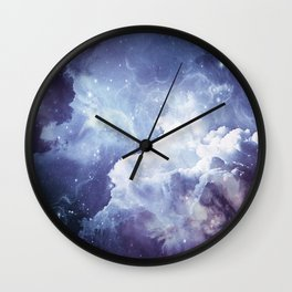 A Sky Made of Diamonds Wall Clock